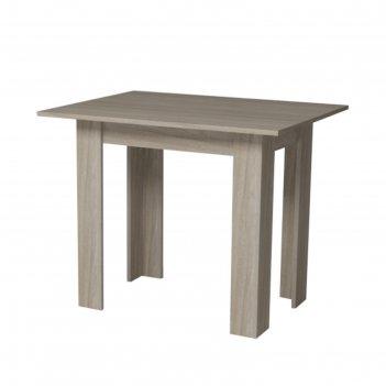 Стол кухонный раскладной, 800/1600х590х750, ясень шимо светлый