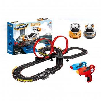 Автотрек «гонки на суперкарах», с 2 машинами, длина трассы 7,4 м., работае