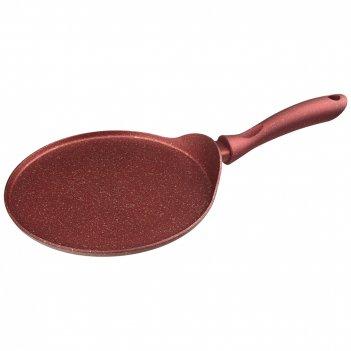 Сковорода блинная agness премиум red queen 24 см, л инд дно, трехслойное п