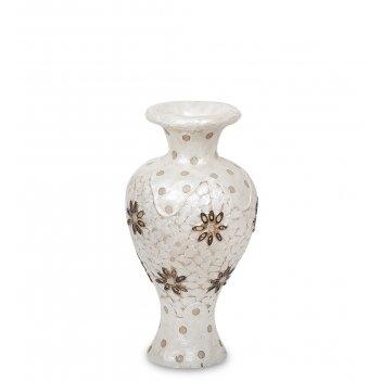 34-004 светильник из перламутра ваза 60см