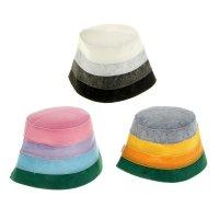 Шапка для бани и сауны в полоску цвет ассорти