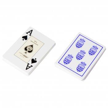 """Карты для покера """"fournier club monaco"""" 100% пластик, испания, с"""