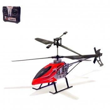 Вертолет радиоуправляемый крутой вираж, работает от батареек микс