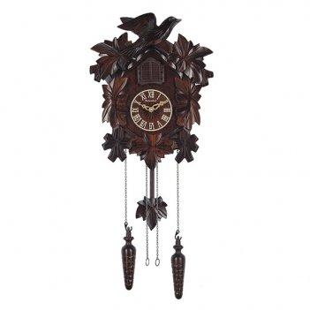 Настенные часы с кукушкой columbus соловей cq-022