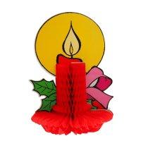 Изделие из бумаги декор свеча