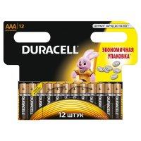 Батарейки duracell  aaa 6х2шт набор hbdc