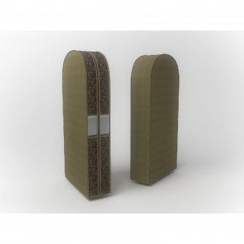 Чехол двойной для одежды малый «русский шик», 60х100х20 см