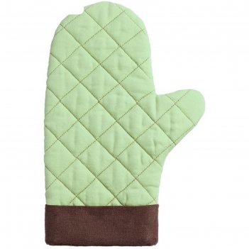 Прихватка-рукавица keep palms, цвет зелёный