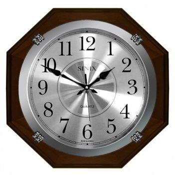 Большие настенные часы sinix 1075 wa