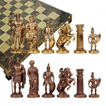 Шахматы металлические эксклюзивные  греко-романский период