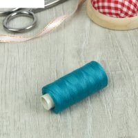 Нитки 40s/2 300м 100% полиэстер №260 сине-зеленый