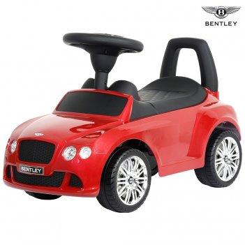 326 каталка-автомобиль bentley с музыкой – красный