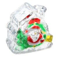 Игрушка световая домик с подарками деда мороза (батарейки в комплекте) 1 l