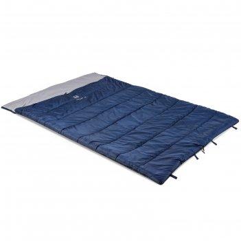 Спальник «galaxy -10», синий/серый
