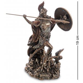 Ws-1010 статуэтка афина - богиня мудрости и справедливой войны