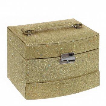 Шкатулка-автомат для украшений, l18,5 w15 h13 см