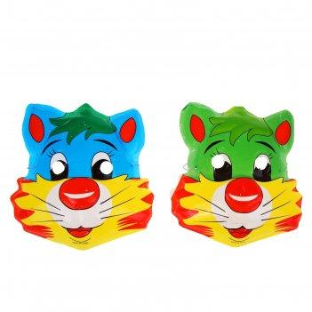 Карнавальная маска котярик - большие щечки