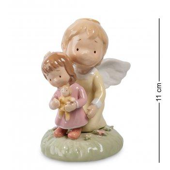 Cms-11/30 фигурка ангелочек-девочка (pavone)