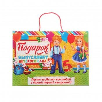 Папка-портфель для подарков выпускнику детского сада