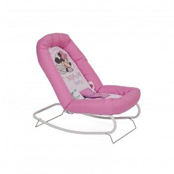 Шезлонг polini kids disney baby «минни маус», цвет розовый