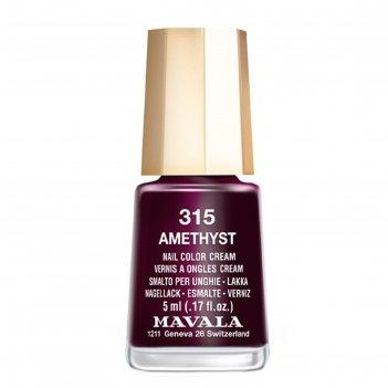 Лак для ногтей mavala 315 аметист