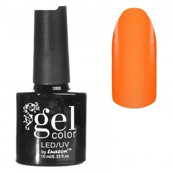 Гель-лак для ногтей, светится в темноте, трёхфазный led/uv, 10мл, цвет 02