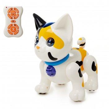 Робот радиоуправляемый кот, световые и звуковые эффекты,
