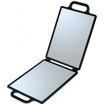 Зеркало nb00035 заднего вида, пластик, черное, складное, с двумя ручками 2