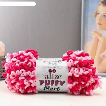 Пряжа puffy more 100 % микрополиэстер 11,5м/150г (6274)