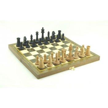 Шахматы складные бук, 40мм с фиг.