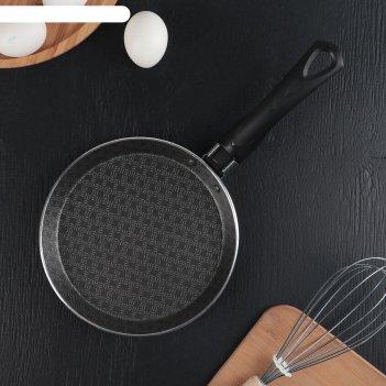 Сковорода блинная 18 см русская кухня лён