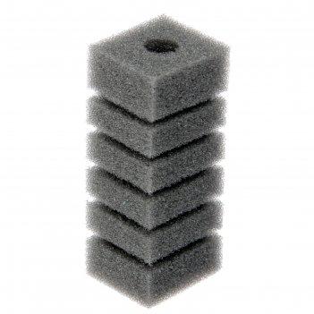 Губка прямоугольная для фильтра турбо №1, 11,2х4х4,5 см