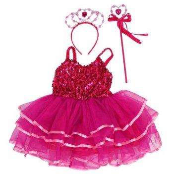 Костюм дюймовочка, платье 50 см, ободок, палочка