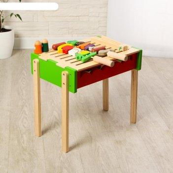 Игровой деревянный набор барбекю 45х30х39 см