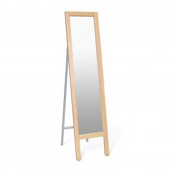 Зеркало напольное альберо sheffilton-м1, 360x520x1465,прозрачный лак