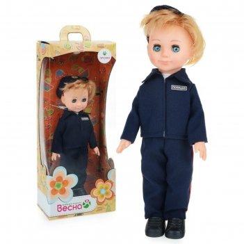 Кукла полицейский 30 см в3877