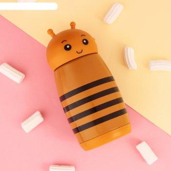 Термос пчёлка, 280 мл, 7х16.5 см