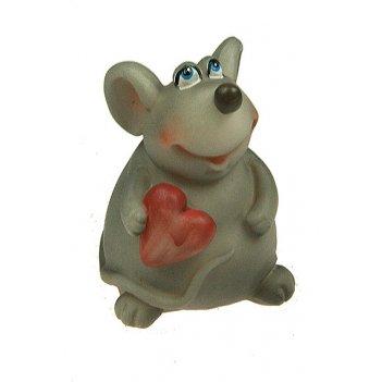 Фигурка декоративная мышка 5*5*7см (уп.6/144шт.)