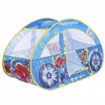 Палатка transformers машинка 126*70*80см gfa-0448-r