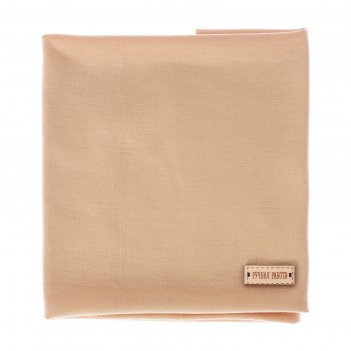 Ткань для пэчворка трикотаж «идеальный беж», 50 х 50 см