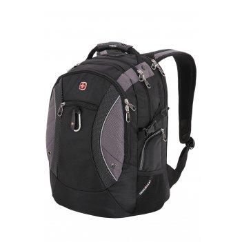 Рюкзак swissgear, 15'' , чёрный/серый, полиэстер 900d, 35х23х48