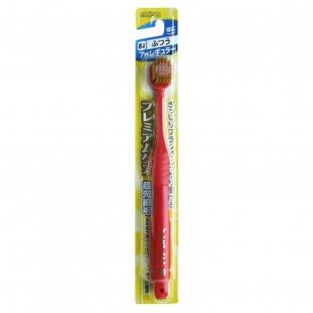 Зубная щетка ebisu с широкой стандартной чистящей головкой, комбинированны