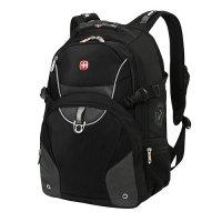 Рюкзак wenger цв.чёрный, серый, с двумя отделениями, карман органайзер
