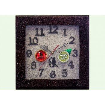 Часы настенные d30-308-камень
