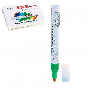 Маркер-краска круг 2,5мм зеленая