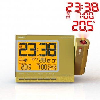 Проекционные часы-будильник meteo projection q754