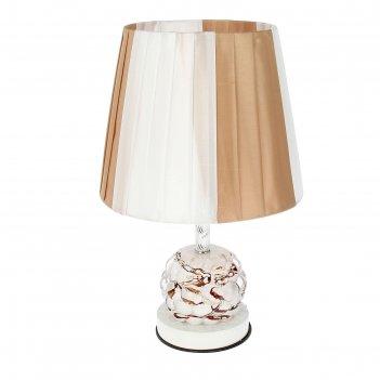 Лампа настольная сенсорная карамель е27 26х41 см