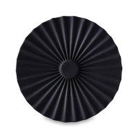 Блюдце круглое, диаметр: 14 см, материал: керамика, цвет: черный, серия pe