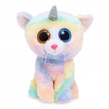 Мягкая игрушка кошка heather с рогом, 25 см 36454