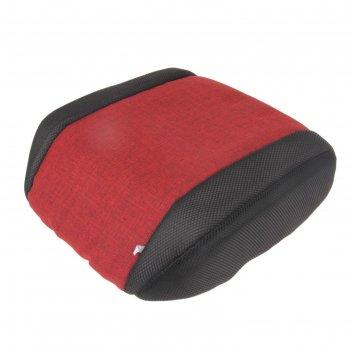 Бустер для перевозки детей в автотранспорте, группа 3, цвет красный